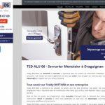 TED Alu 06, dépannage dans les Alpes-Maritimes