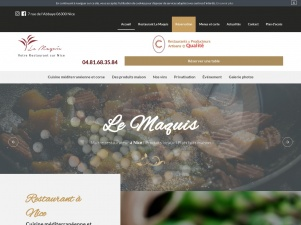 Le Maquis, Restaurant à Nice