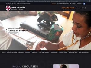 Madame CHOUATEN, Infirmière à domicile à Jumet