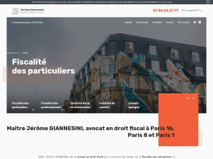 Maître Giannesini, avocat fiscaliste à Paris 16