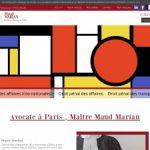 Maitre Maud Marian, avocat au barreau de Paris